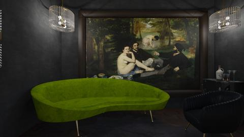Art Deco - Living room  - by tottie101_7