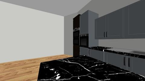 kuchnia i salon  - Kitchen  - by Mar_Gro
