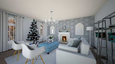 Holiday Living Room - Living room  - by homeiswheredesignis