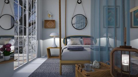 M_ Winter - Bedroom  - by milyca8