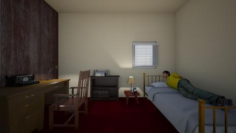 Alberto Bedroom  - Kids room  - by WestVirginiaRebel