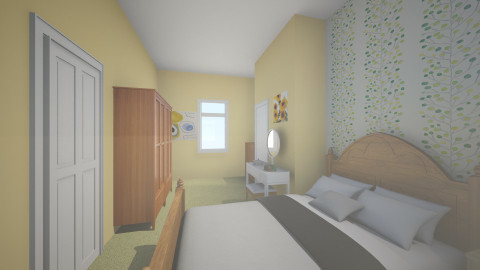 Mum and Dads - Country - Bedroom - by clare299