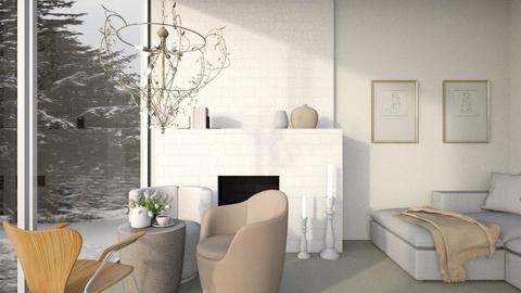 Three Armchairs - Living room  - by anamarijag00
