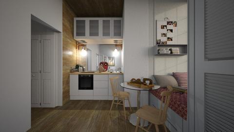 Casa283KitchenDining - Modern - Kitchen  - by nickynunes