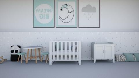 Minty baby room - Kids room  - by Aristar_bucks