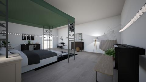 My Dream Bedroom - Modern - Bedroom  - by bishdevo9