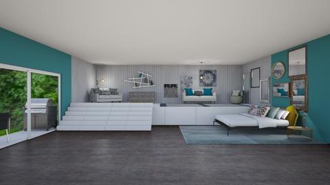 artistic bedroom - Modern - Bedroom  - by aschaper