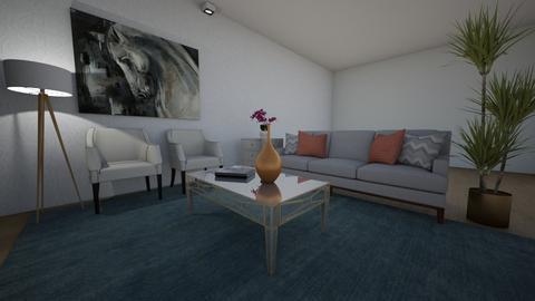 Sala - Classic - Living room - by larissalfm