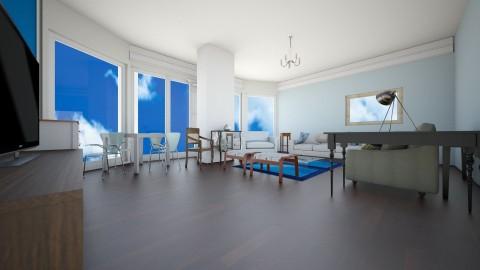 Living10d - Living room - by hala amroussy