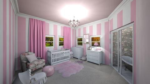 Pink room - Modern - Kids room - by UloveTashi Designs
