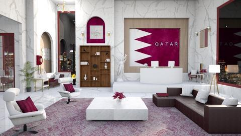 Qatar embassy design - by hmm22