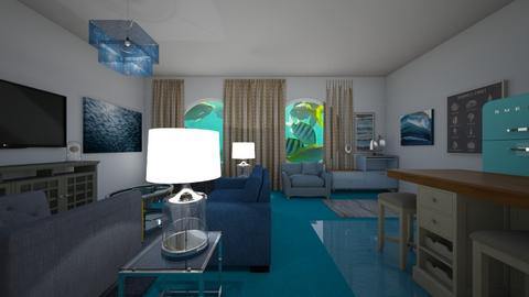 Underwater Life - Living room  - by mspence03