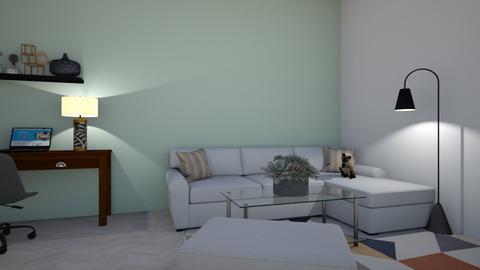 Minimalist Lounge - Living room  - by superroommaker