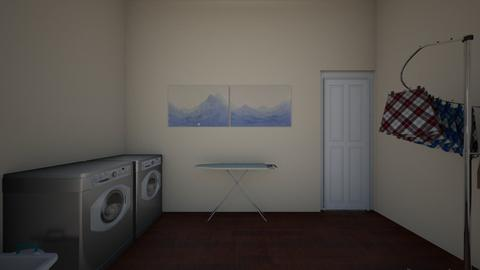 laundry room - by wences116