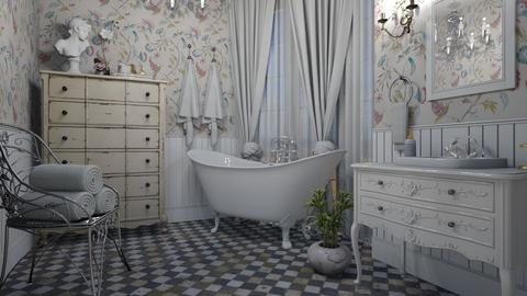 Shabby chique - Bathroom  - by Tuija