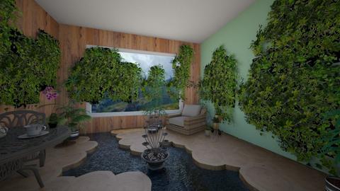 overgrown Greenhouse - Garden  - by TropicalLands