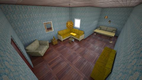 IDK GOLD - Living room  - by oAbaza978