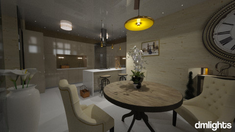 Bunker kitchen - Glamour - Kitchen  - by DMLights-user-981898