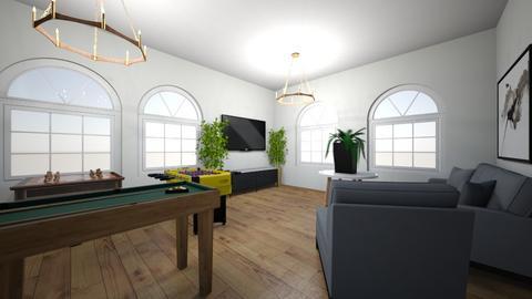gaming room - by iuw_slimIII