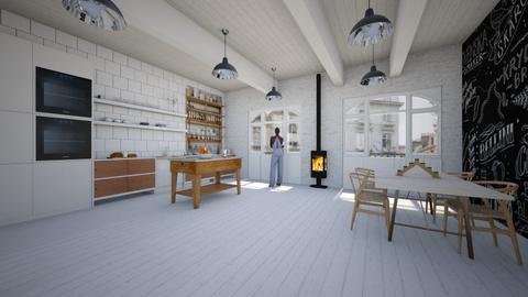 scandinavian kitchen - Modern - Kitchen - by kitty