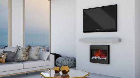 Contest 3_n i n i  - Modern - Living room  - by n i n i