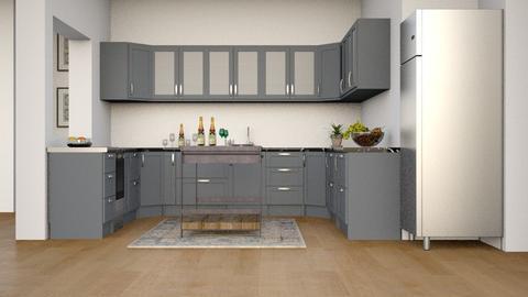 Rental K - Modern - Kitchen - by millerfam
