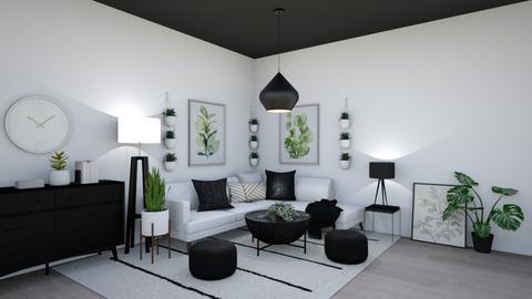 Modern Living Room - Modern - Living room  - by Lambogirl