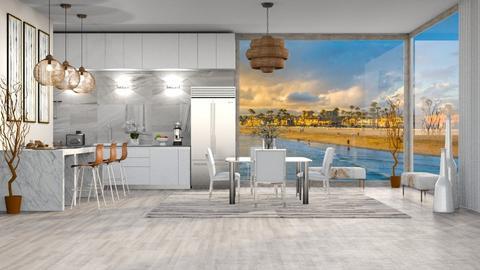 BEACH KITCHEN - Modern - Kitchen  - by RS Designs