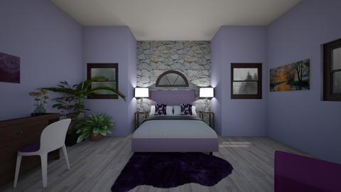 Indigo Bedroom - Bedroom  - by SavvyAvenue