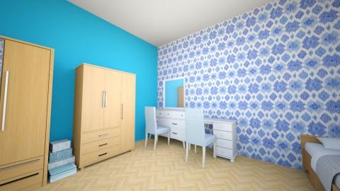 bedroom for girls blue - by Arhitekt11