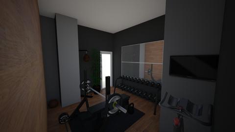 Gym Room - Minimal - by EdoMedo97
