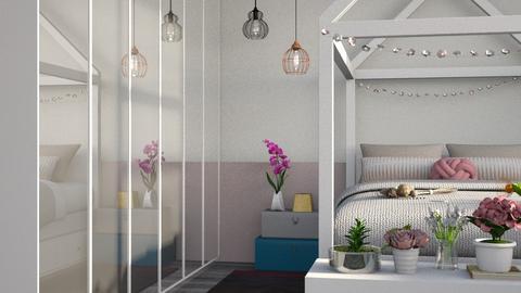 flower bedroom - Bedroom  - by Lilaah
