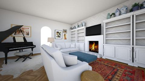 Family Room - by virtuestella