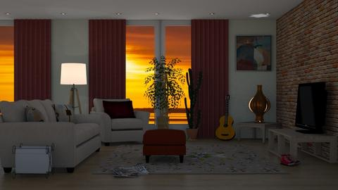 Hoteles com - Global - Living room  - by Elenny