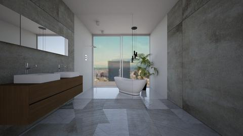 project  - Modern - Bathroom - by Zosia Zakrzowska
