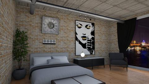 industrial - Bedroom  - by steker2344