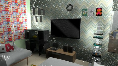 my room 4 - Retro - Bedroom - by herjantofarhan