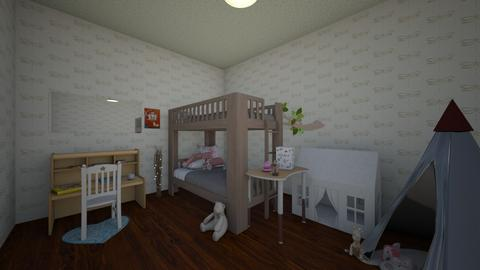Flower Kid room - Vintage - Kids room  - by Pauuu UwU