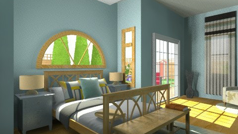 master - Classic - Bedroom  - by mesmith3