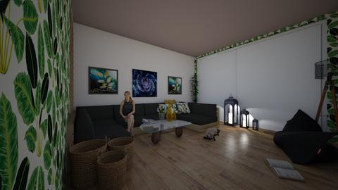 salon_jardin - Modern - Living room  - by bodreams