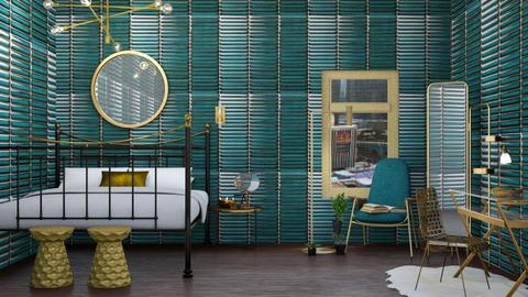 Embellished With Brass - Modern - Bedroom - by helsewhi