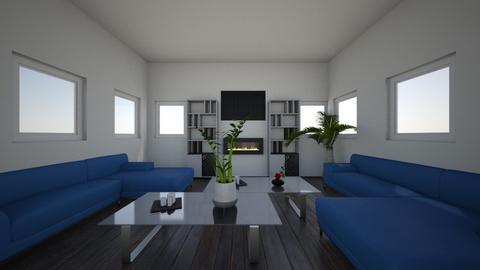 nice cool living room 1 - Modern - Living room  - by atlas design