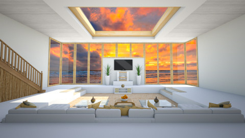 Minimal - Minimal - Living room  - by Tuubz