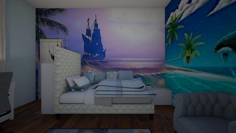 mural room2 - Bedroom  - by heatherpc