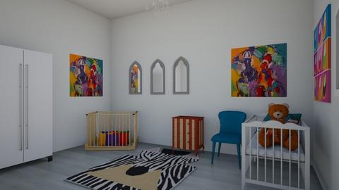 Baby Bedroom - Bedroom  - by MaiZee20