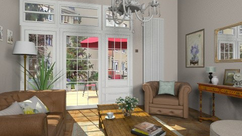 Studio apartment2 - Eclectic - Living room  - by milyca8
