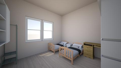 1 - Bedroom  - by  Xuan_000