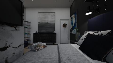 Luxury view bedroom - Modern - Bedroom  - by UrbanDesigns