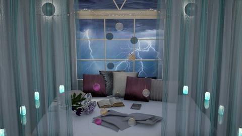 Rainy Bedroom  - Bedroom  - by Gab71892