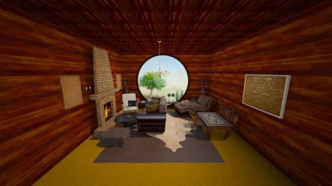 Hobbit Hole - Country - Living room  - by nesta